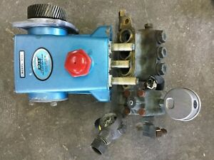 Cat Pump Model 45g Pressure Washer Pump For Parts