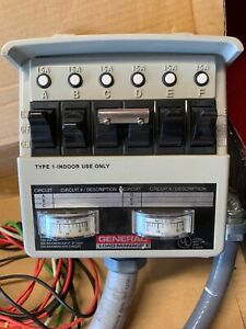 Generac Portable Generator Power Switch Transfer System Load Manager 01276 1