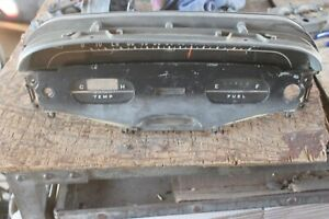 1958 Chevy Car Instrument Cluster of