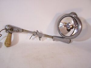 Vintage Unity 6v Car Truck Ge Chrome Spotlight Light Model H 1 Bakelite Handle