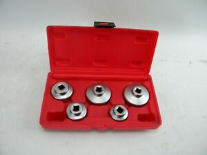 Matco Ofsr50 5pc 3 8 Drive Oil Filter Cap Socket Set s2