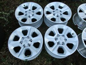 17 Toyota Tacoma 4runner Silver Factory Oem Alloy Wheels Rims 75153 2014 2018