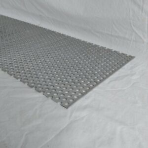 Perforated Metal Aluminum Sheet 125 X 12 X 36 3 8 Hole 11 16 Stagger