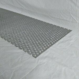 Perforated Metal Aluminum Sheet 125 X 24 X 24 3 8 Hole 11 16 Stagger