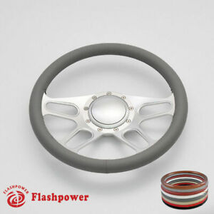 14 Billet Steering Wheel Full Wrap Chevrolet Monte Carlo Camaro Cutlass W Horn