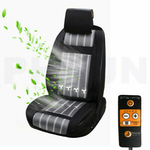 8 Fan Cooling Car Seat Cover Cushion Cool Ventilation Air Cooler 12v 3 Speed Lvl