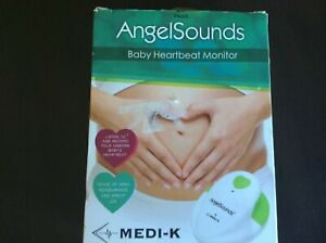 Angelsounds Fetal Doppler Baby Heartbeat Monitor