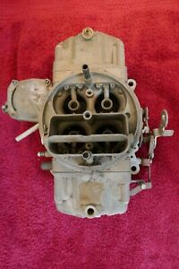Chevrolet Holley Carburetor Used Original Dated 0a5 Part 3878261 Eh List 3310