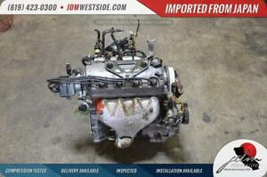 Jdm 96 97 98 99 00 Honda Civic Dx Lx D16 Engine 1 6l Sohc Non V tec Obd2 Engine