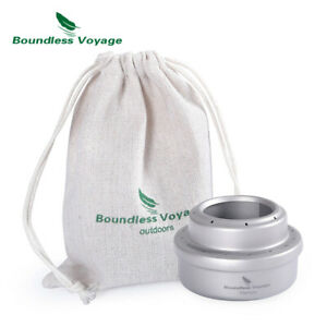 Bv Titanium Alcohol Stove Outdoor Camping Mini Cooker Burner For Picnic Hiking