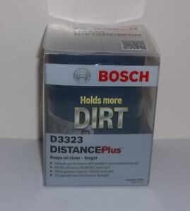 Bosch D3323 Distance Plus High Performance Oil Filter Original Packaging