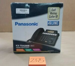 Panasonic Kx ts4200 Integrated 4 Line Telephone System Phone New In Box