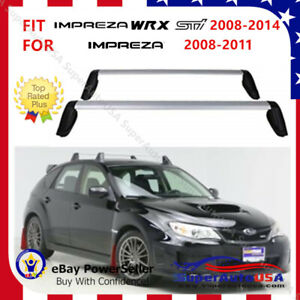Top Roof Rack Fit For Subaru Impreza Wrx Sti 2008 2014 Baggage Luggage Cross Bar