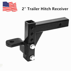 3 Ball Trailer Hitch 2 Receiver Mount 10 Adjustable Towing System 5000 Lbs