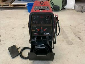 Great Shape Lincoln 225 Tig Welder With Ready Pack And Extras Ohio