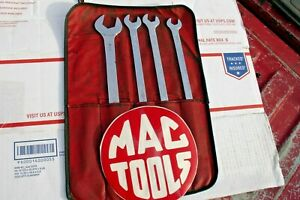 Mac Tools Tappet Wrench Set 4pc