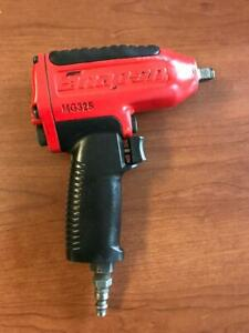 Snap on 3 8 Drive Red Mg325 Super Duty Pneumatic Impact Wrench