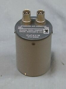 General Radio 1403 g Standard Air Capacitor r2