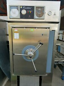 Laboratory Autoclave 24x36x36 Steam Sterilizer By Consolidated W Loading Cart