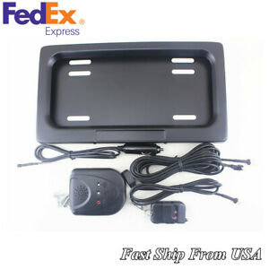 Hide Away Shutter Cover Up Electric Stealth License Plate Bracket Remote Us Ship