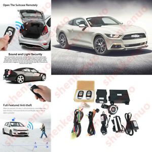 For Ford Keyless Entry Engine Start Alarm System Push Button Remote Starter