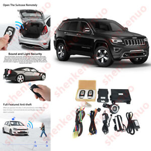 For Jeep Keyless Entry Engine Start Alarm System Push Button Remote Starter