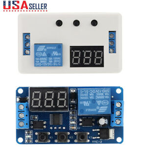 12v Dc Led Adjustable Automation Delay Timer Control Switch Relay Module Y1w8