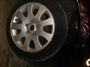 Wheel 16x7 Alloy 9 Spoke Fits 98 04 Audi A6 129361