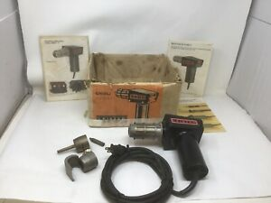 Leister Ghibli Kagiswil Heat Gun Hot Air Blower In Box W Papers Tested Works