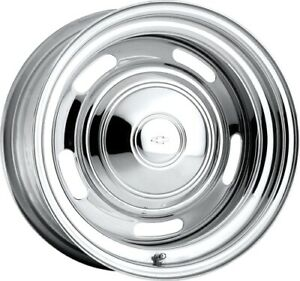 U S Wheel 57 5734450 Chrome Rallye Wheel Series 57