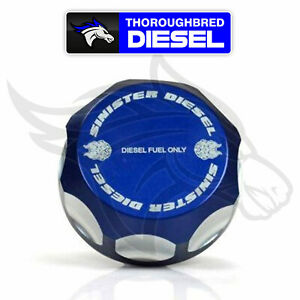 Sinister Diesel Fuel Cap For 03 07 Ford Powerstroke 6 0l Diesel