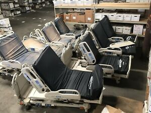 Lot Of 8 Hill rom P3200 Versacare Med Electric Adjustable Hospital Patient Beds