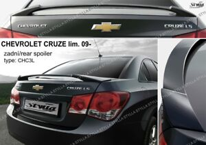 Chevrolet Cruze Spoiler Rear Trunk Boot Tailgate Wing Accessories Fits For 2009