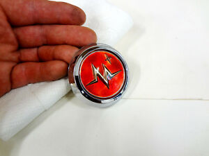 Nos 1955 Mercury Steering Wheel Horn Ring Button Medallion Center Cap Emblem