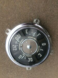 Vintage Gauge Cluster Original From A 1949 Chevy Truck