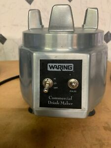 Waring Commercial Drink Maker Heavy Duty Blender Model Sdm50 Blender Only Base