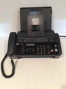 Vtg Hp 2140 Fax Machine W copy Function Handset Cm721 Tested