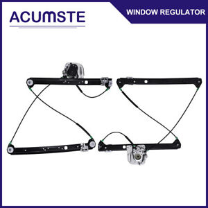 Front Left Right Side Power Window Regulator For 2000 2006 Bmw X5 W no Motor
