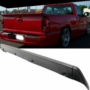 Fit For 07 14 Chevy Ss Silverado Intimidator Tailgate Rear Pu Wing Truck Spoiler