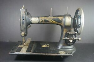 Antique White Sewing Maching Co Treadle Sewing Machine Early 1900 S Parts Repair