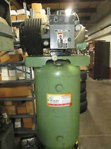 Sullair 10 Hp Rotary Screw 460v 3ph Air Compressor W 80 Gallon Tank New 1993