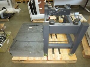 Isolation Table No Mfg s Data Plate block Size 36 w X 24 d X 8 t for Parts Only