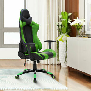 High Back Racing Style Gaming Chair Reclining Office Executive Task Computer