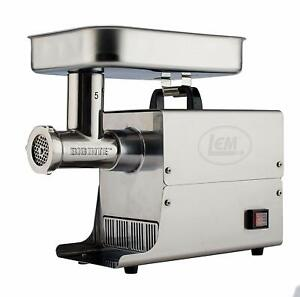 New Lem Products 17771 Big Bite 5 35hp Stainless Steel Electric Meat Grinder