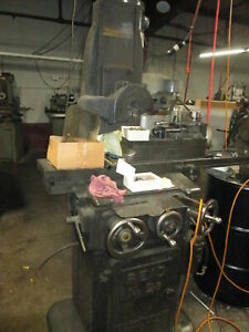 Reid No 2 b 6 x 18 Reciprocating Grinder W b s Magnetic Chuck Pope Spindle