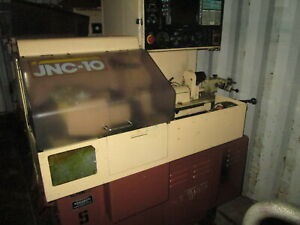 Star Model Jnc 10 13 stroke 2hp Cnc Swiss Screw Machine W yasnac Control