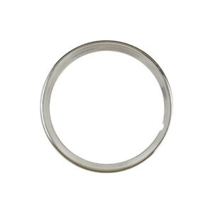 Wheel Trim Ring Stainless Steel 15 Ribbed 4 Ribs Ford 32 10157 1