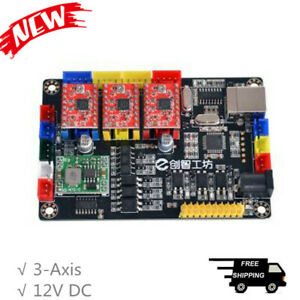 3 axis Laser Controller Board Cnc For Laser Engraving Writing Machine V6