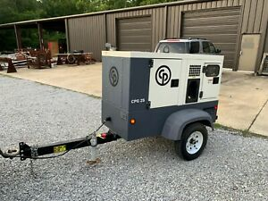 Chicago Pneumatic Atlas Copco 25 Kw Generator