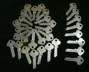 30 Locksmith Key Blanks Vintage Usa Wr2 X1054wa For Weiser Locks